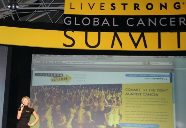 global cancer livestrong summit