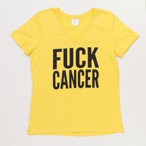 T Shirt Fuck Cancer